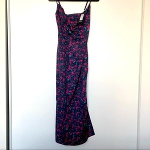 Nasty Gal Floral MIDI Dress (New With Tags)